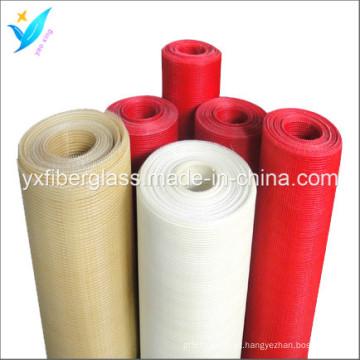 Rede de fibra de vidro de 3.2mm * 3.2mm 60G / M2