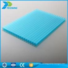 Paneles de techo de invernadero de policarbonato de alto rendimiento de fábrica