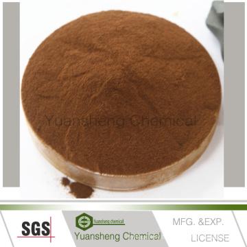 Poudre d'additif en céramique de Yuansheng Chemical / Calcium Lignosulfonate
