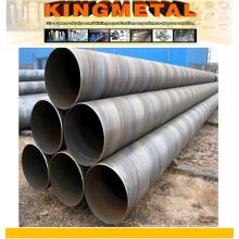 Анп 5л x52 Спиральн сваренная стальная Труба Штабелевки