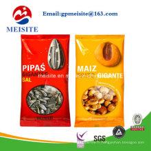 Factory Custom Printed Food Grade 3-Side Heat Seal Sac à emballage en plastique transparent