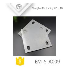 EM-S-A009 personalizado stamping aço peças de chapa de estamparia