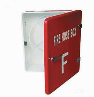 Marine FRP glass reinforced plastic fire hose box