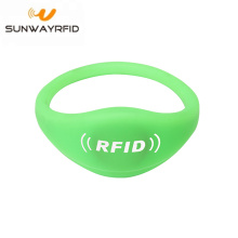 RFID NTAG215 NFC-chip siliconen armband