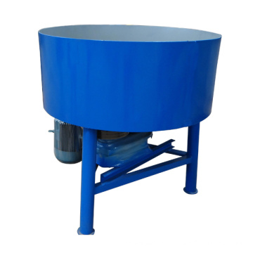 JQ350 concrete cement pan mixer machine
