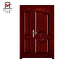 Corrosion main door design solid wood,entry solid wood door