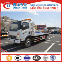 China Brand New Sinotruk Flatbed Wrecker Truck
