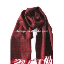écharpes courtes en jacquard de laine d'hiver de mode