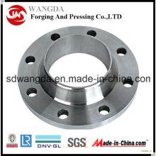 Большой размер ASME B16.47 Углеродный стальной кованый фланец