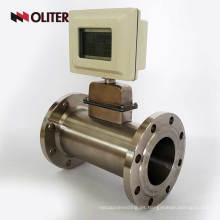 sensor de medidor de flujo de aire de gas alimentado por batería con pantalla LED