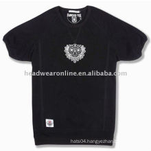 women round neck t shirts with printing