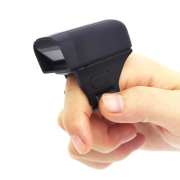 Tragbarer Bluetooth Mobile Ring Barcode-Scanner