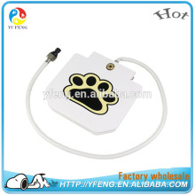 Dog pet step on fountain durable water feeder