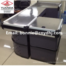 Cash Counter with Electrical Belt