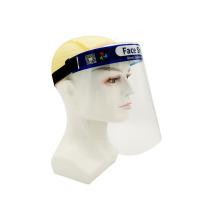 Protetores faciais de plástico transparentes antiembaçantes com design OEM
