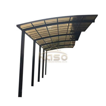 Canopies & Carports Aluminium Frame Materiale Sun Shade Carport
