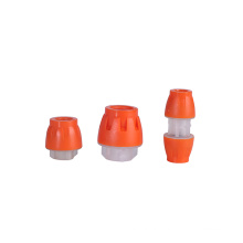 Multi type customized plastic qiuck hdpe straight micro tube fitting