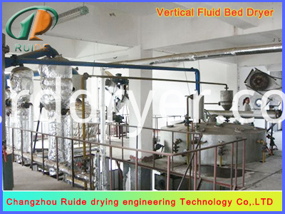 High Quality ZLG Series Vibration Fluidized Bed Dryer for Chemic