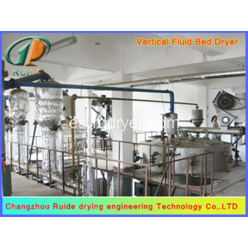 Seafood fine fluidized bed dryer