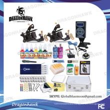 Wholesale Professional Tattoo Kits Tattoo Machine Kits 2 Tattoo Machines