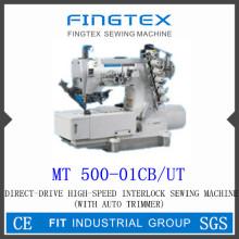 Высокая скорость с автоматической обрезкой Интерлок швейная машина (MT 500-01CB/UT)