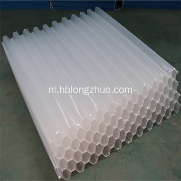 Anti UV PP PVC Hellende Honeycomb Tube Settlers