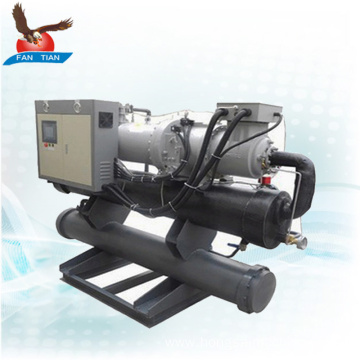 high quality 200kw industrial water cooled screw chiller
