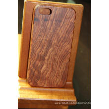 Really Burma Padauk Valuable Gift Funda móvil de madera
