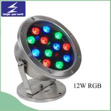 12W bunte Unterwasser LED-Brunnen-Beleuchtung