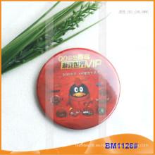 Insignias de botones de estaño, Insignia promocional, Insignia redonda PinBM1126