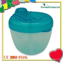 4 compartiments Distributeur de poudre de lait pour bébés