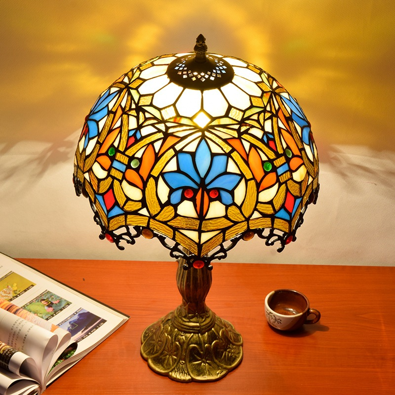 Application Large Gold Table Lamp