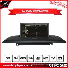Navigation GPS Lecteur DVD pour BMW X3 E83 avec USB Vidéo Bluetooth Hualingan