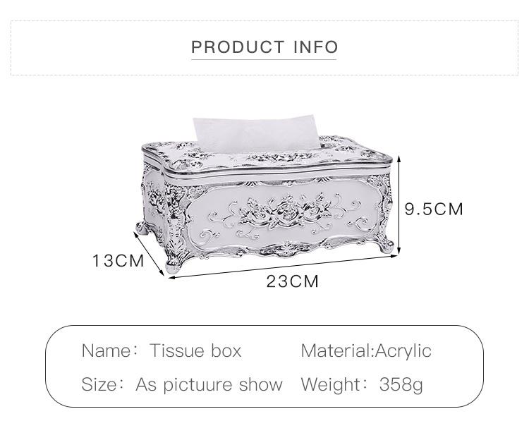 Oem Custom Storage Living Room Plastic Tissue Box14 Jpg