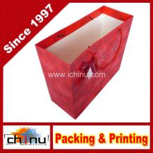 Bolsa de papel de arte / bolsa de papel blanco (2210)