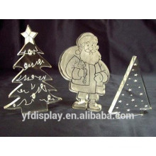 Clear Modern Acrylic Snowing Christmas Tree