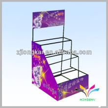 Diseño de moda metal balck cabello arco arco pantalla de bastidores