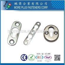 Taiwan Stainless steel 18-8 Copper Brass Key Hole Fittings Single Keyhole Fittings
