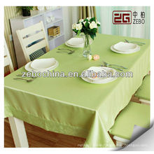 wholesale green decorative dining table cover