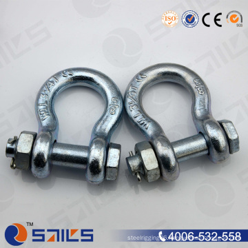 Standard G2130 Hot-Dipped Galvanized Shackle