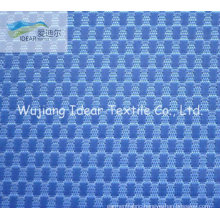 Polyester Check Jacquard Oxford Fabric For Luggage
