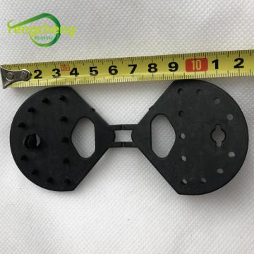 Черные пластиковые зажимы-бабочки зажима сетки для ткани тени