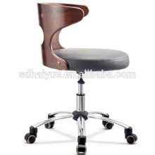 2017 Newest style plywood office chair wholesale used furniture swivel leisure chair