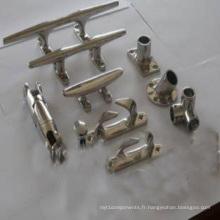 Matériel de moulage de précision de cire perdue de silice de précision de silice (pièces d'usinage)