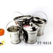 Stainless Steel 4PCS Food Barrel (FT-0414)