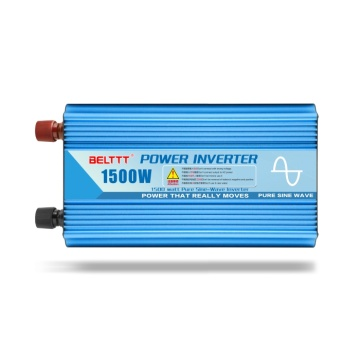 Convertisseur d'alimentation de voiture de 1500 watts à courant alternatif à courant alternatif