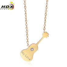 Moda senhoras colar de aço inoxidável colar de jóias (hdx1146)