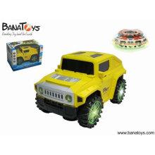B / o bump & go bailando hummer coche de juguete de plástico