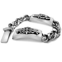Bracelets gothiques & punk & rock style hommes classiques en acier inoxydable