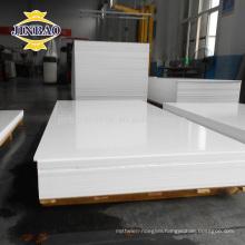 Jinbao plastic factory 1220x2440mm 2mm 3mm sheet rigid pvc plate